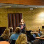 Lise forklarede i detaljer hvad der skaber en succesfuld person