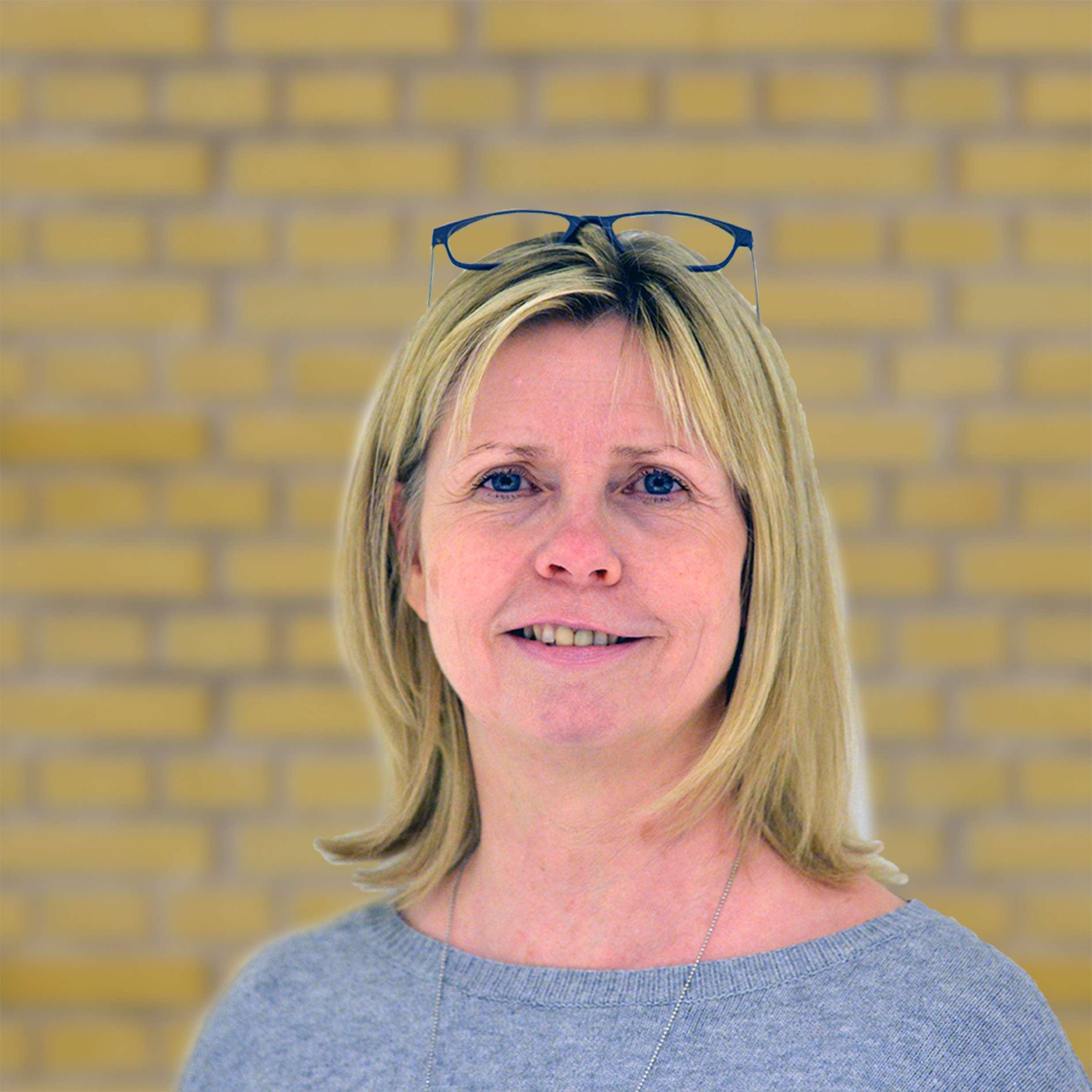 Helle M. Nielsen fra Sparekassen Sjælland i Dianalund