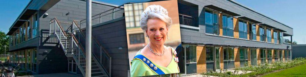 Mølleparken bliver undviet som certificeret idrætsplejecenter af H.K.H Prinsesse Benedikte