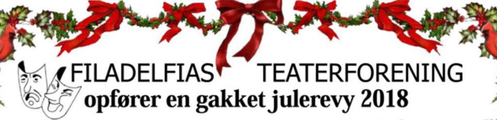 Teaterforening i Dianalund opfører Julesangen er væk - en gakket julerevy 2018