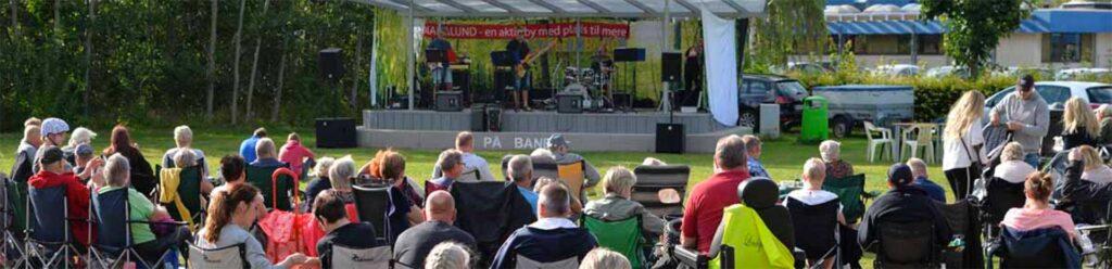 """Picnic koncert """"På Banen"""" i Dianalund sommeren 2021"""