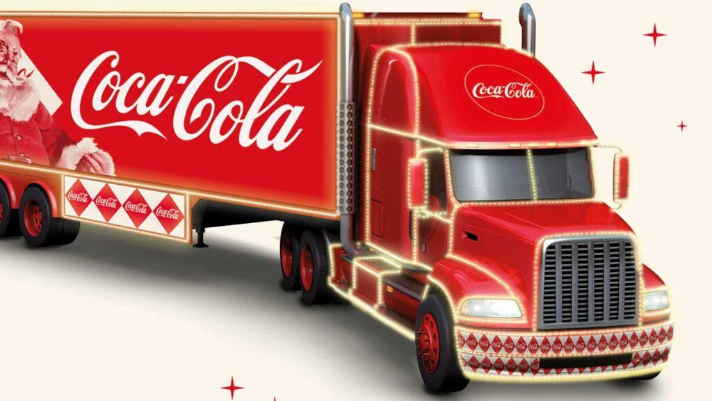 Coca Cola julelastbilen kommer forbi Dianalund Centret med masser af aktiviteter og mulighed for at få taget billede sammen med selveste julemanden