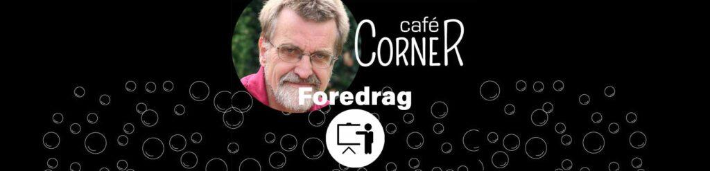 Foredrag om udviklingen i 70'erne ved Jørgen Mogensen på Cafe Corner i Dianalund Centret