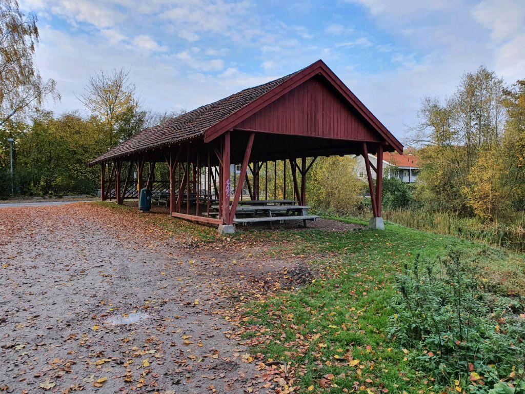 Den røde lade ved Tersløse Bøgeskov i Dianalund
